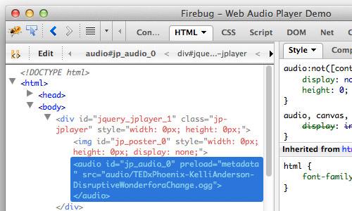 Как создать элегантный веб-аудиоплеер