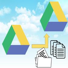 Простое копирование файлов с Google Диска на Google Диск