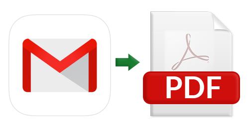 Преобразование Gmail MBOX в PDF