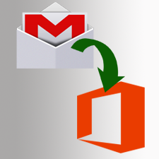 Перенос Gmail в Office 365 для преобразования, импорт писем Gmail в Office 365
