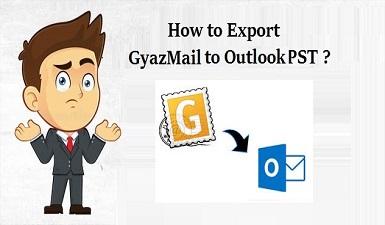 Как экспортировать GyazMail в PST для пользователей Outlook