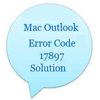 Решение для Mac Outlook 2011 Код ошибки 17897 Ошибка аутентификации