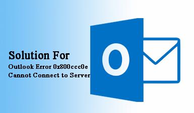 Как решить ошибку Outlook 0x800ccc0e не удается подключиться к серверу?