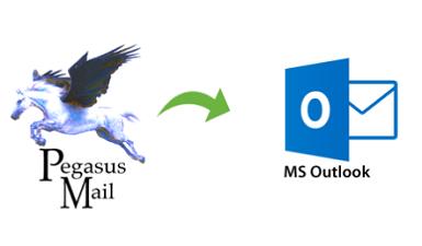 Преобразование Pegasus Mail в Outlook – экспорт писем Pegasus в PST