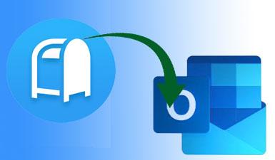 Как экспортировать почтовый ящик в Outlook