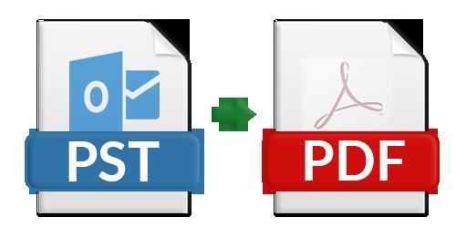Как конвертировать PST в PDF с вложениями?