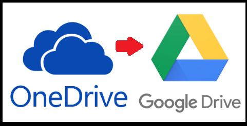Как сохранить файлы OneDrive на Google Диск наиболее простым способом?
