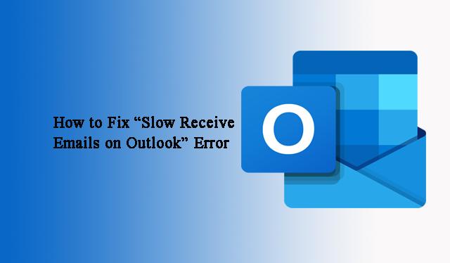Как исправить ошибку «Медленное получение писем в Outlook» вручную?
