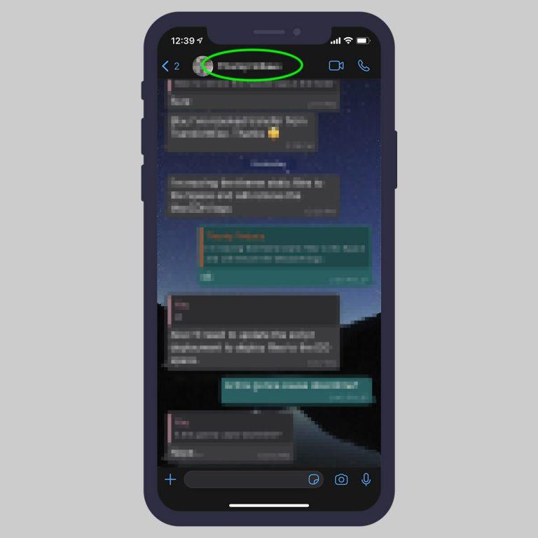 Заставить сообщения WhatsApp исчезнуть через 7 дней