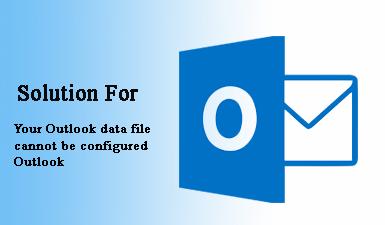 Исправить «Ваш файл данных Outlook не может быть настроен Outlook»