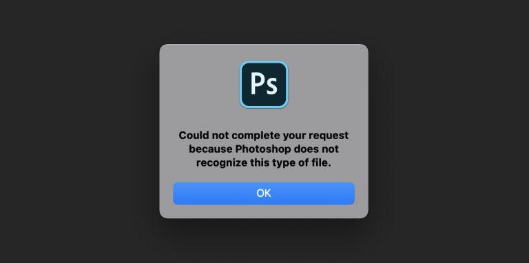 Как открыть файлы .WebP в Photoshop