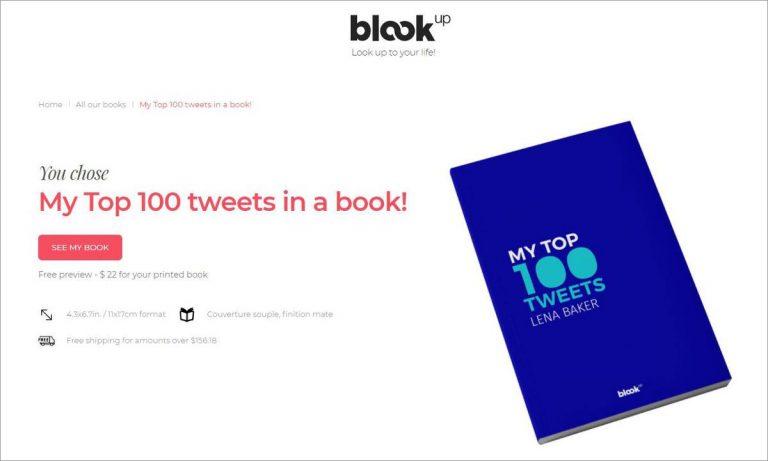 Как преобразовать ваши твиты в опубликованную книгу