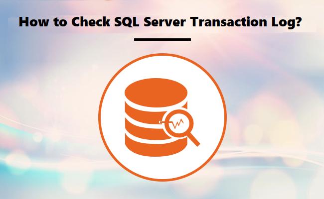 Как легко и успешно проверить журнал транзакций SQL Server?