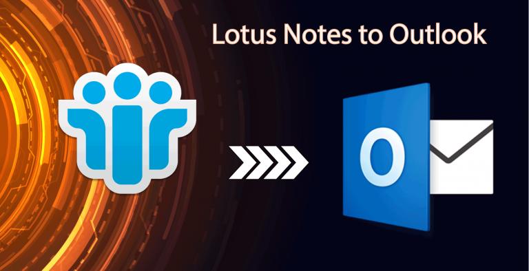 Как вручную экспортировать электронную почту Lotus Notes в Outlook для всех версий