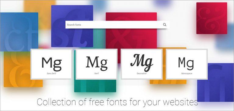 Fontstorage – коллекция бесплатных веб-шрифтов для любого веб-проекта