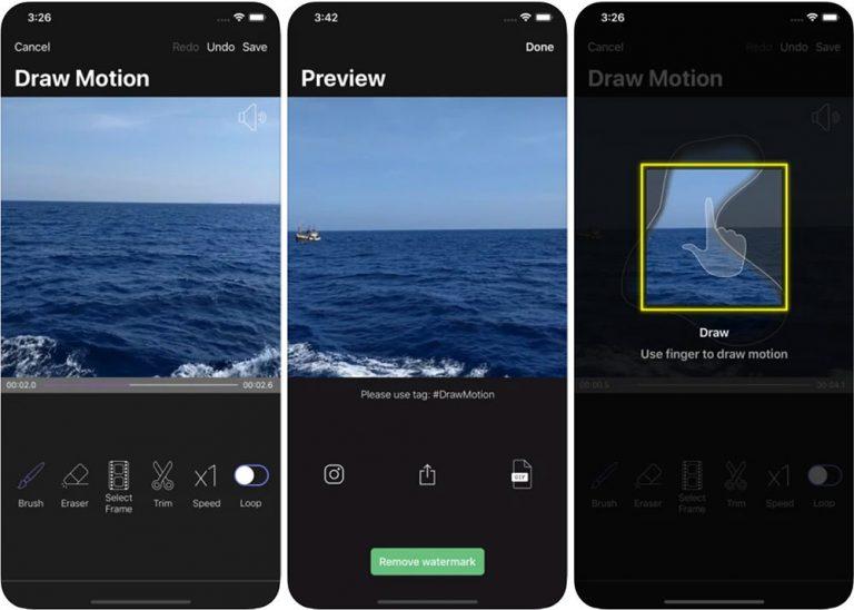 10 приложений для iOS и Android для создания синемаграфов
