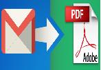 Как конвертировать одно / несколько писем Gmail в PDF?