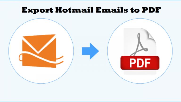 Экспорт писем Hotmail в PDF — безболезненные методы преобразования