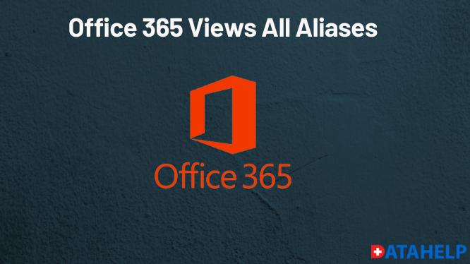 Как работают все псевдонимы в Office 365?  Обеспечение разумных подходов