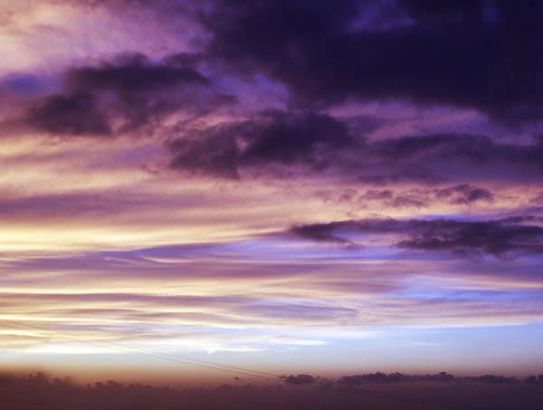 40 потрясающих фотографий красивых облаков, Том 1