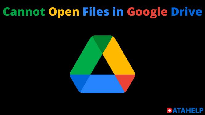 Невозможно открыть файлы на Google Диске с помощью самых простых решений: исправление ошибки
