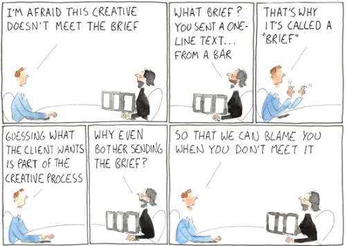 Фрилансеры: сбор исчерпывающего творческого брифинга от вашего клиента