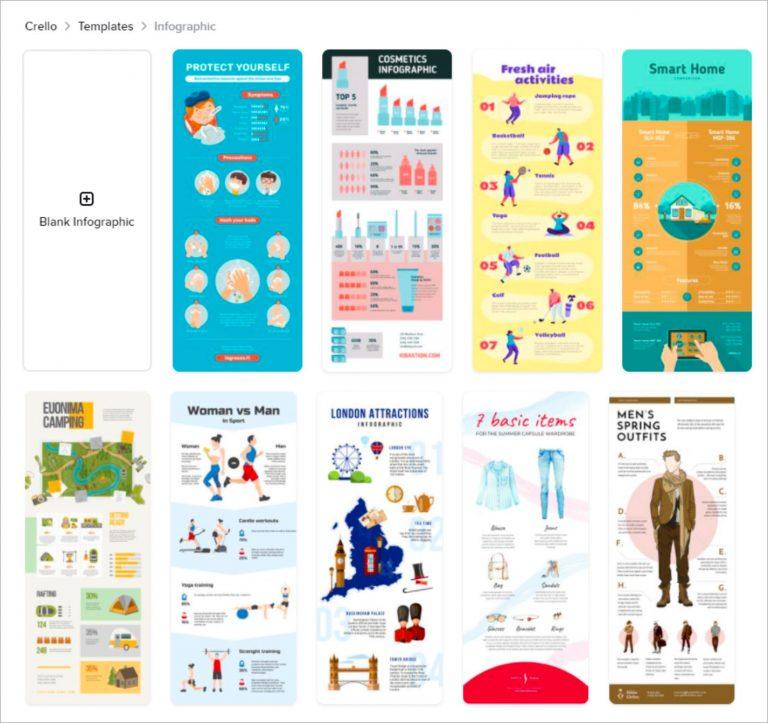 30 инструментов для создания собственной инфографики (2021 г.)
