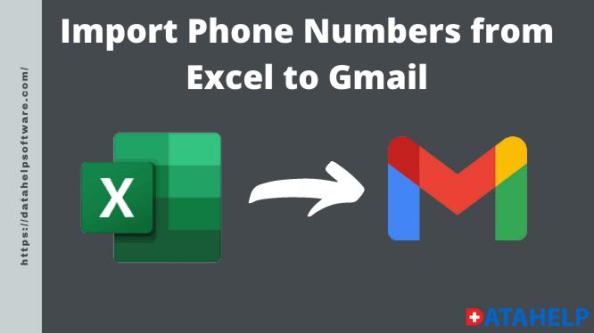 Импорт номеров телефонов из Excel в Gmail: полное руководство